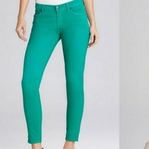Citizens of Humanity green Thompson jeans